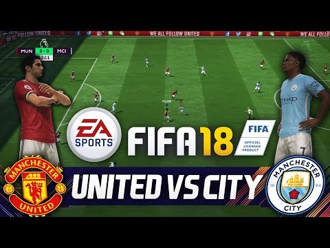 FIFA 18 MANCHESTER UNITED vs MANCHESTER CITY🔥⚽ 6 Tore Full Gameplay - FIFA 18 Vollversion PMTV