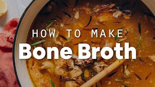 How to Make Bone Broth   Minimalist Baker Recipes