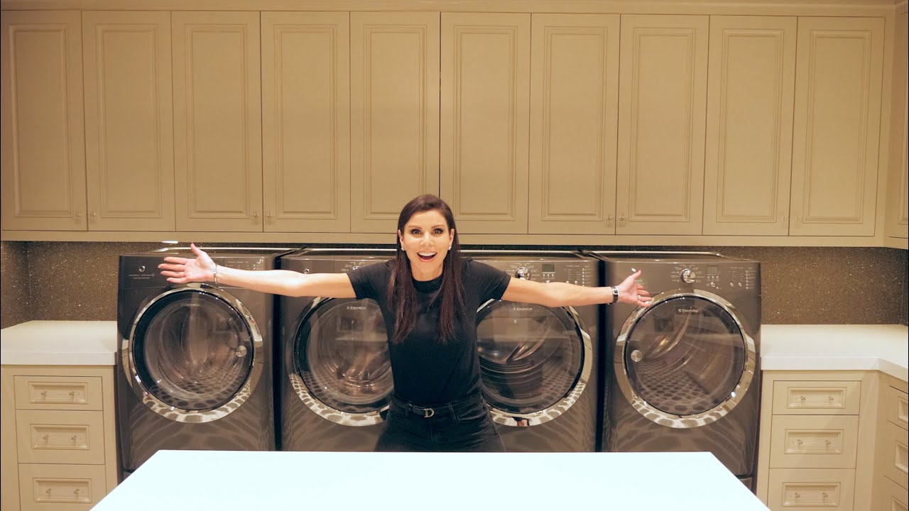 The Laundry Room Dubrow House Tour Youtube
