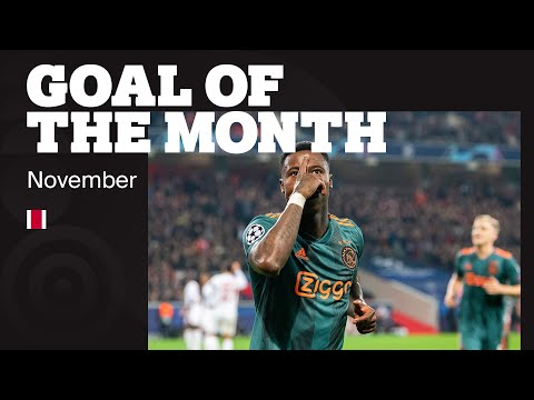 GOAL OF THE MONTH NOVEMBER | Douglas, Ziyech, Van de Beek, Lang, Chourak & Promes