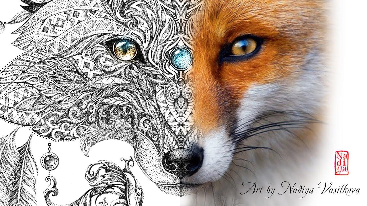 Pointillism Art By Nadiya Vasilkova Youtube