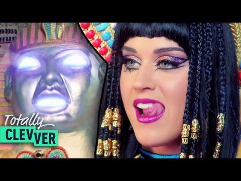 Katy Perry's DARK HORSE Explained! -- 5 Weirdest Lyrics of 2014 Totally Clevver