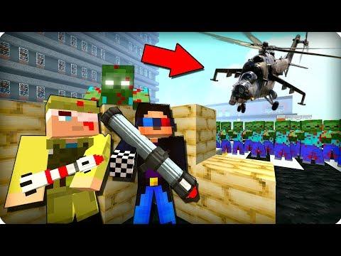 ⚠️Нам всем конец! ЖЕСТЬ! [ЧАСТЬ 14] Зомби апокалипсис в майнкрафт! - (Minecraft - Сериал)