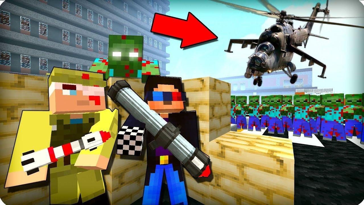⚠️Нам всем конец! ЖЕСТЬ! [ЧАСТЬ 14] Зомби апокалипсис в майнкрафт! - (Minecraft - Сериал) MyTub.uz