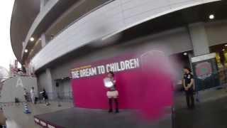 2013.7.3ファジアーノ岡山vsヴィッセル神戸19:00キックオフ@カンス...