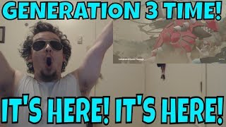 Crazy Reaction!! GEN 3 CONFIRMED FOR POKEMON GO!! BEYOND HYPED TRAILER!! 😂😍😂😍😱😱