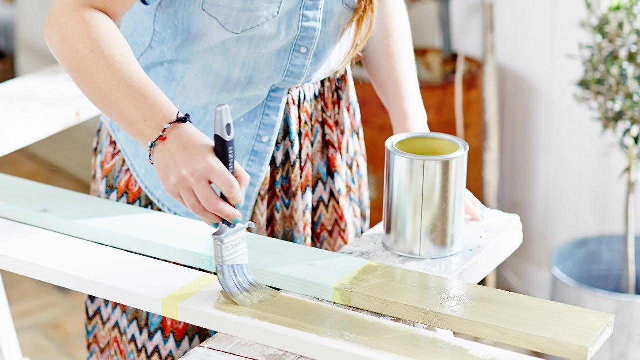 Måla bord - Inspiration från Anza - YouTube
