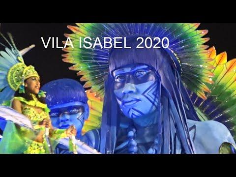 Resultado de imagen de Vila Isabel 2020