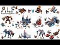 All Lego Nexo Knights Season 1 sets - Lego Speed Build Review