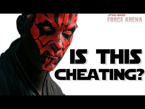 Is this Deck Cheating? Star Wars: Force Arena - Darth Maul is Best Clone Wars Card