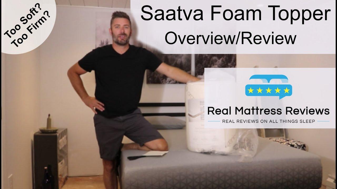 Saatva Mattress Topper Review   Saatva Review