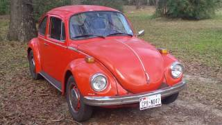 So you want to buy a volkswagen beetle