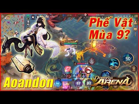🌸Onmyoji Arena: Aoandon Trùm Mid 1 Thời - Còn Mạnh Hay Yếu? - Bảng Ngọc và Trang Bị Mùa Mới