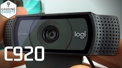 Logitech C920 HD Webcam Review and Setup - C920 Video Test