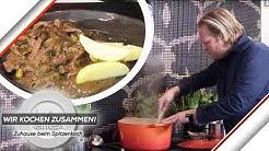Björn Freitag kocht: Pfefferpotthast mit Kartoffeln | Wir kochen zusammen | Kabel Eins