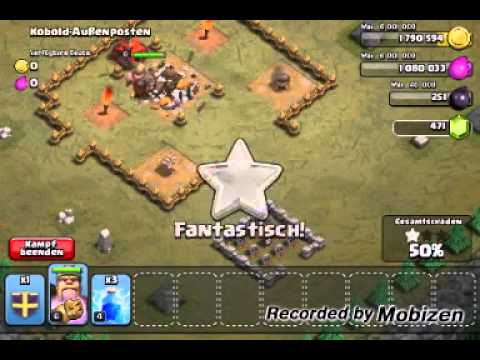 Clash Of Clans : Kobold Mission 3