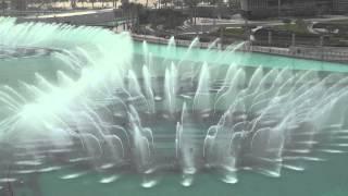 Burj Khalifa Fountain (daytime)