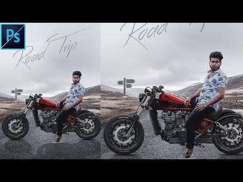 Photoshop manipulation tutorial || by sony jackson thumbnail