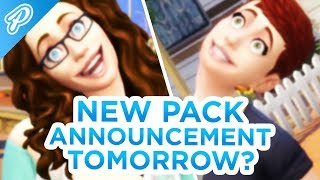 NEW PACK ANNOUNCEMENT TOMORROW! 😱 // The Sims 4: News & Info