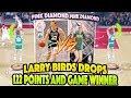watch he video of FREE PINK DIAMOND LARRY BIRD'S DROP 122 POINTS ON INSANE GAME WINNING SHOT!!! NBA 2K18