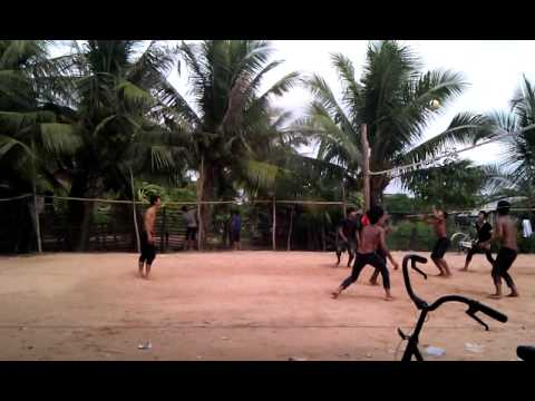 Krang lvea play volleyball 25/09/2011