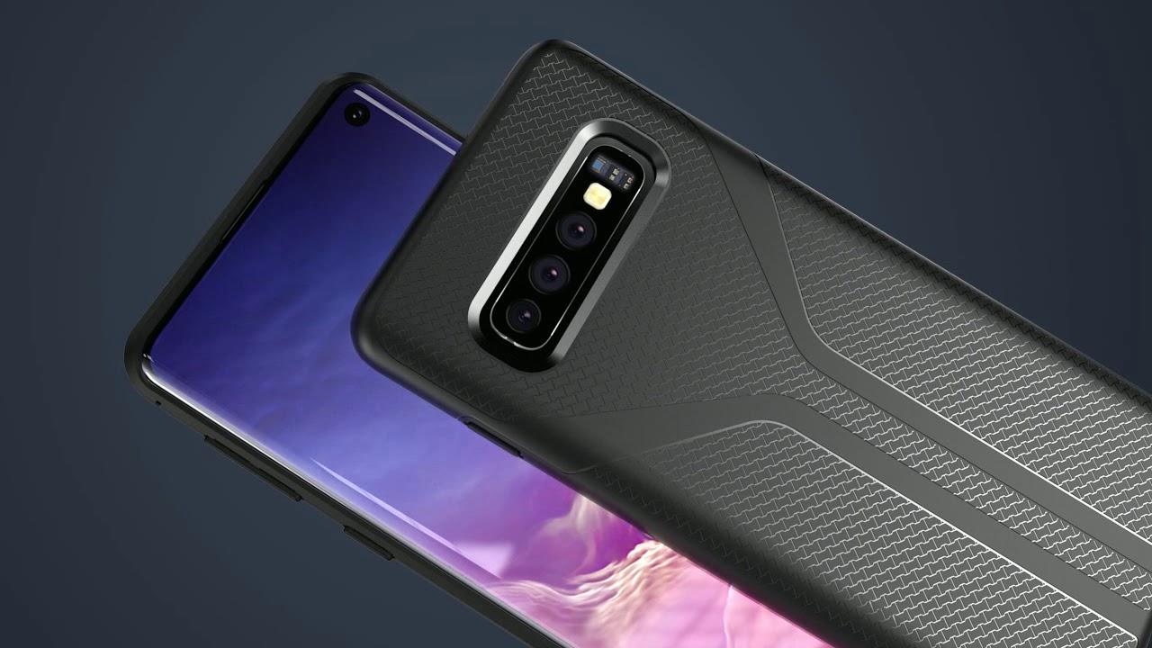 Galaxy S10 Case, lightweight, softer than apple.