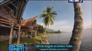 on the spot 7 mitos sosok di danau toba
