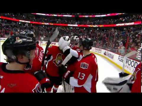 Mika Zibanejad Shootout Goal (New Jersey Devils vs Ottawa Senators Mars 25, 2013) NHL HD