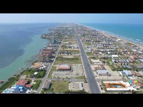 City of South Padre Island drone footage