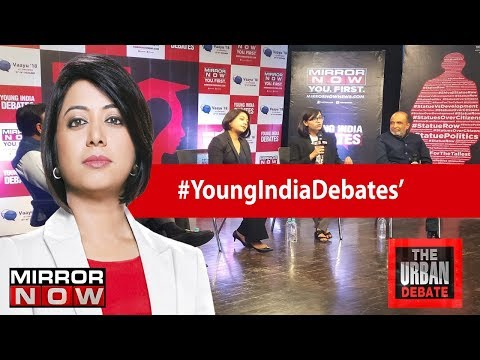 Jobs Vs Statues - What does young India want? | The Urban Debate With Faye D'Souza