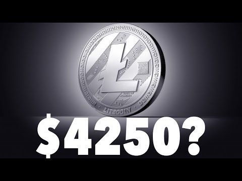 Litecoin Hits $335 All Time High (From $4 Jan 1 2017) HODL | Is Litecoin Heading To $4250?