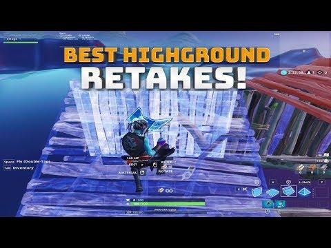 Best High ground Retakes! - (Fortnite Battle Royale)