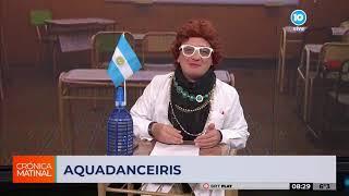 """""""AquaDanceIris"""", el show de baile y humor en Crónica Matinal con Iris Haydée"""