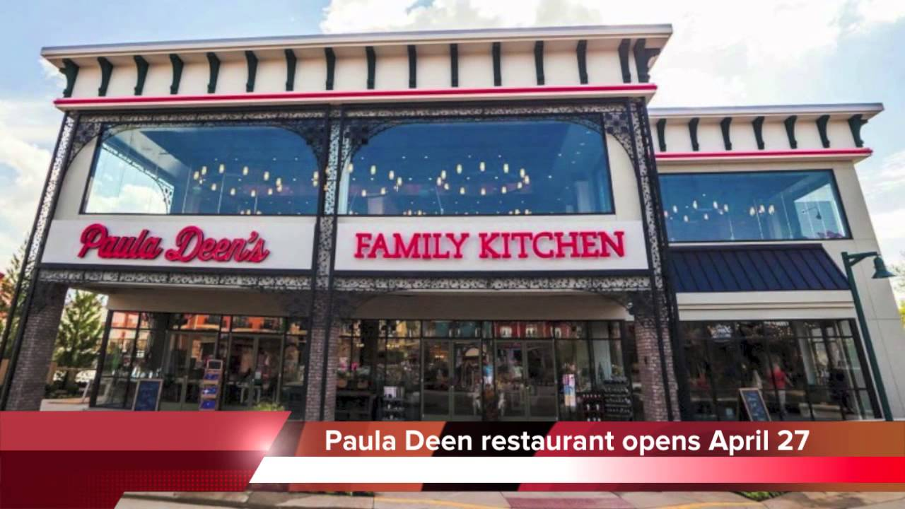 Paula Deen S Family Kitchen Pigeon Forge Restaurant Opens