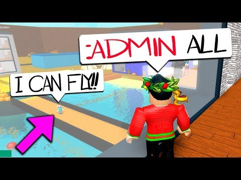 JOIN THIS ROBLOX GAME AND EVERYONE GETS ADMIN COMMANDS!!