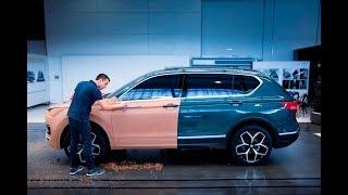 Как рождается автомобиль? Необычная профессия - автомобильный скульптор!