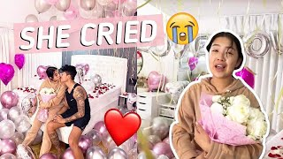 I SURPRISED MY GIRLFRIEND AFTER 2 WEEKS OF NOT SEEING HER | Rei & Migy