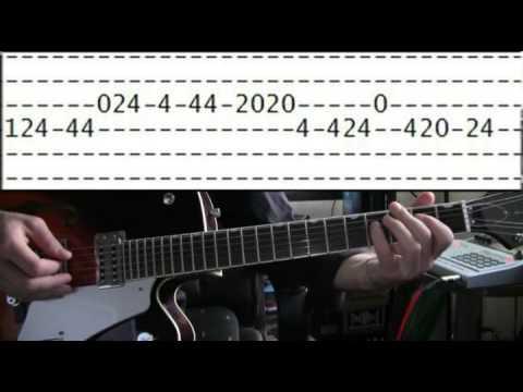 guitar lesson Legend of Zelda theme tab