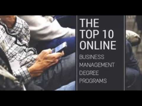 Best Online Business Management Degrees