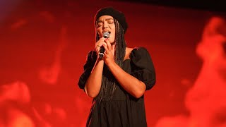 Nova Luther sjunger Set fire to the rain av Adele i Idols kvalvecka 2020 - Idol Sverige (TV4)