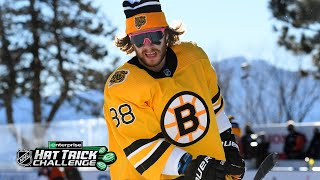 Pastrnak dominates at Lake Tahoe with hat trick