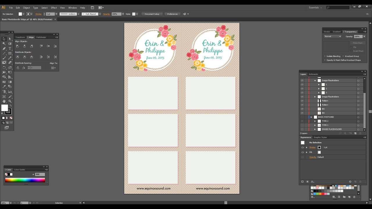 how to load a photo booth template into breeze systems