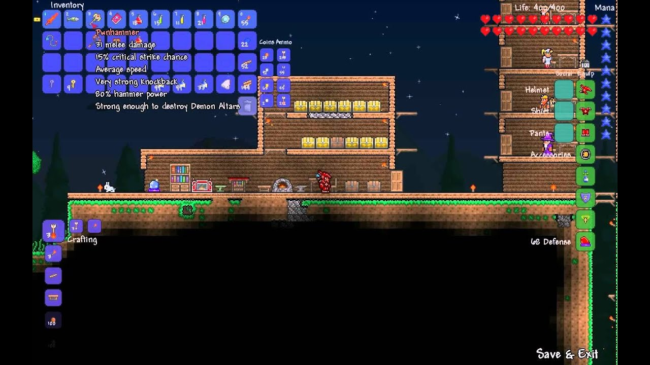Terraria 43  Warding Accessories  YouTube