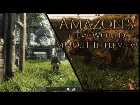 "Amazon's NEW WORLD 🎃""Leaked"" Details - Is It An MMORPG? (Alpha Interview, Overview, Impressions)"