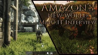 """Amazon's NEW WORLD 🎃""""Leaked"""" Details - Is It An MMORPG? (Alpha Interview, Overview, Impressions)"""