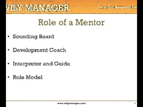 How To Mentor Someone - A 3-Minute Crash Course