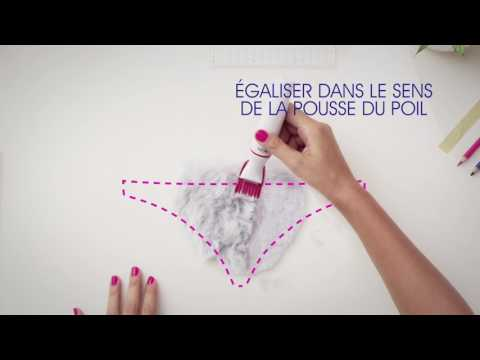 Sois créative avec Veet Sensitive Precision - Bikini rectangle
