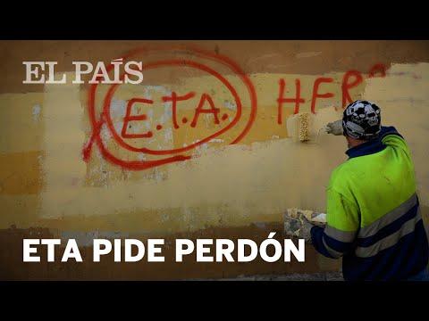 """ETA pide """"PERDÓN"""""""