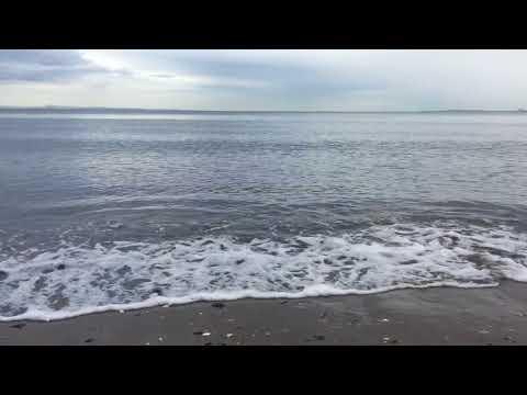 ASMR long relaxing Scottish Sea Waves