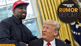 Donald Trump and Kanye West Love Affair Continues